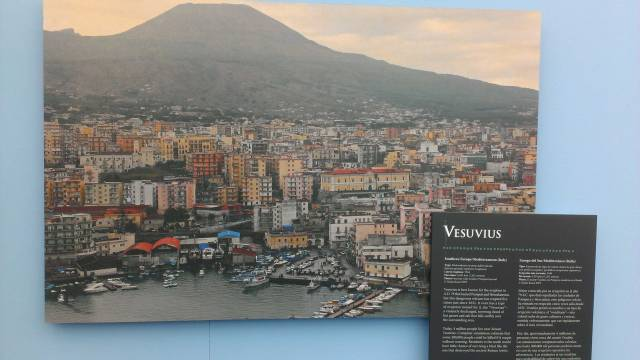 Modern Pompeii and Mt. Vesuvius - still looks like a beautiful, inspiring place!