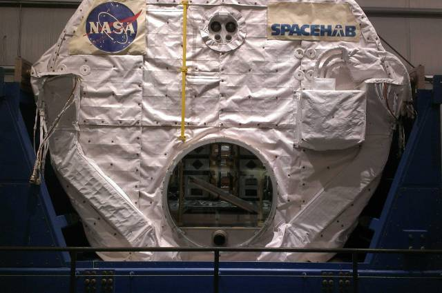 SpaceHab. Yes, it's what you think: Space Habitat.