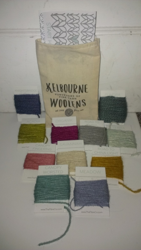 Yarn Tasting Kit for an afternoon of play