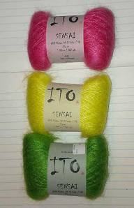 Yes this is Asian yarn, although it is Japanese, not Chinese, like the photo that inspired the pairing.
