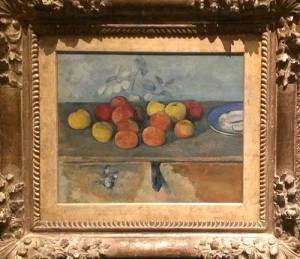 Cezanne's Apples and Biscuits.