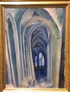 Robert Delaunay's Cathedral is another work that is such a beautiful cross between realism and abstraction.