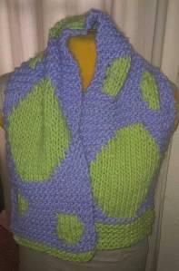 elizabeth kay booth polka dot scarf