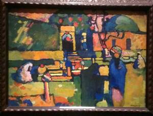 Kandinsky's use of vivid color is one the reasons I'm so drawn to his work.