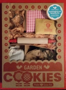 A Valentine's gift for the kids - these garden cookies are supposed to attract hummingbirds and butterflies.