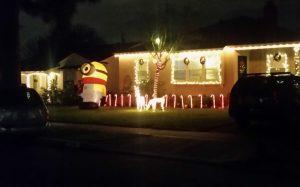 minion christmas decoration