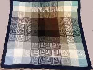 hue shift afghan by knitpicks