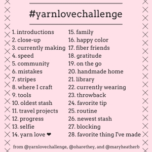 #yarnlovechallenge