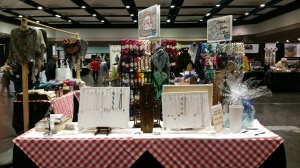 Knotted Treasure Booth at Stitches West 2017