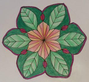 mandala art, createwithelizabethkaybooth