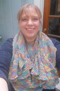 short row knitting, knit shawl