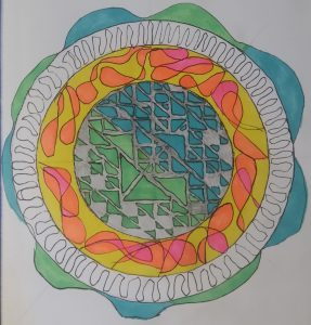 makesomething365, mandalas