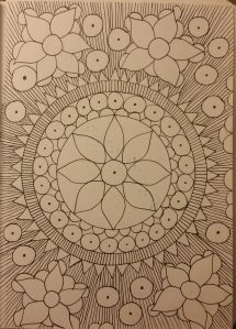 makesomething365, mandala art