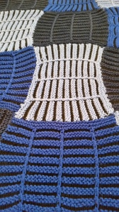 Louver Panes baby blanket